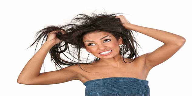 hair care tips for dry and oily hair in telugu